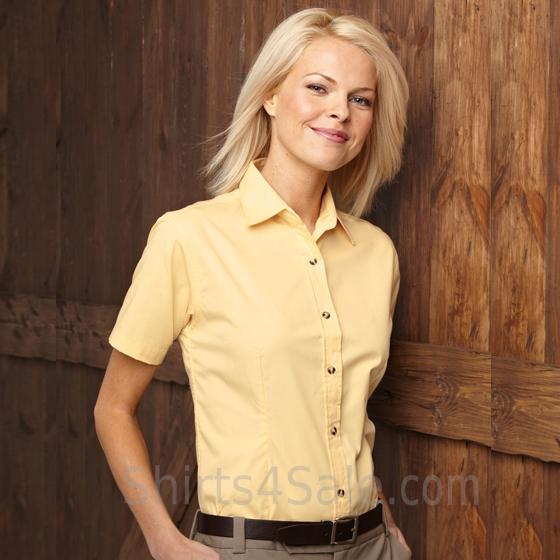 Women's Stain Resistant Short Sleeve Shirt